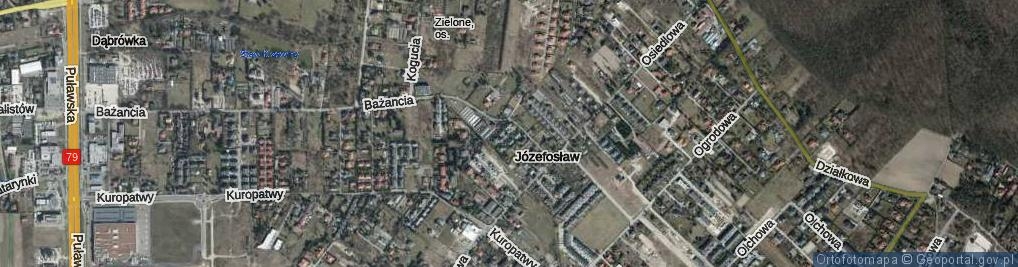 Zdjęcie satelitarne Przepiórki ul.