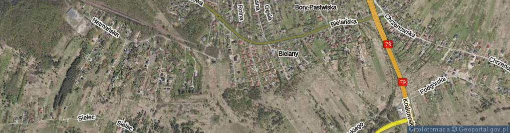 Zdjęcie satelitarne Prześlaków Heleny i Jana ul.