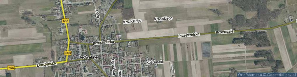 Zdjęcie satelitarne Przestrzelska ul.