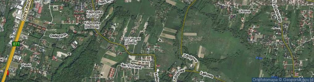 Zdjęcie satelitarne Przymiarki ul.