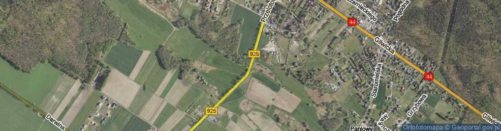 Zdjęcie satelitarne Przelotowa ul.