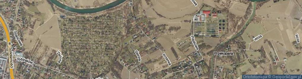 Zdjęcie satelitarne Przerwa ul.