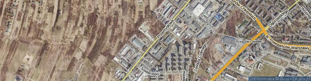 Zdjęcie satelitarne Przemysłowa ul.
