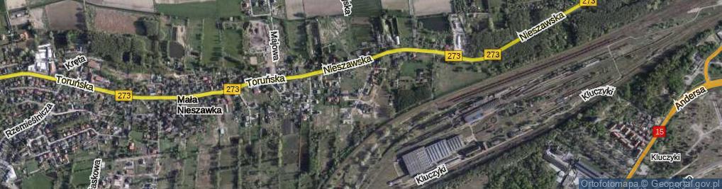 Zdjęcie satelitarne Przy Nasypie ul.
