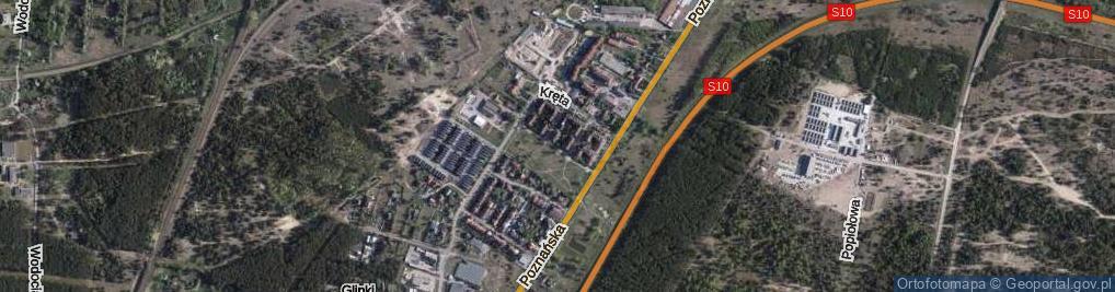 Zdjęcie satelitarne Przytulna ul.
