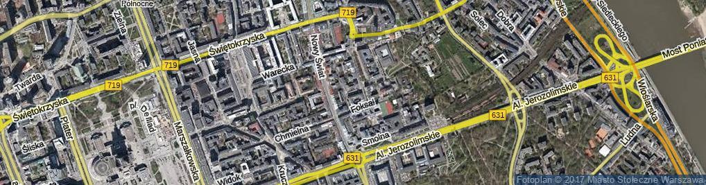 Zdjęcie satelitarne Przybosia Juliana ul.