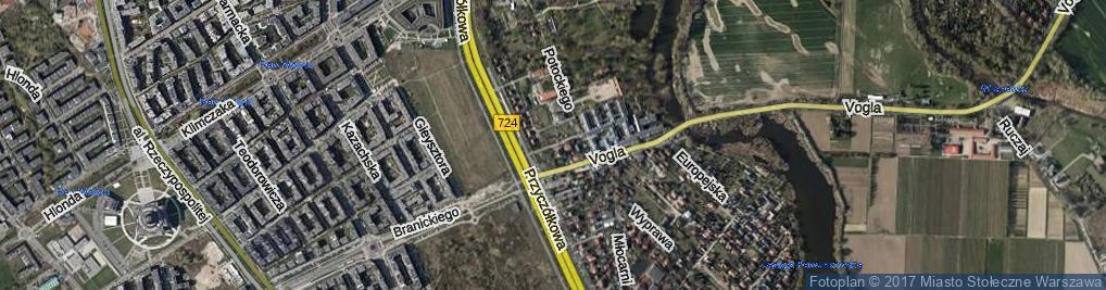 Zdjęcie satelitarne Przedatki ul.