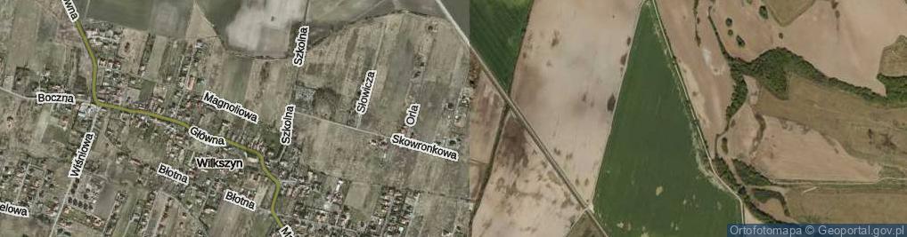 Zdjęcie satelitarne Przepiórcza ul.