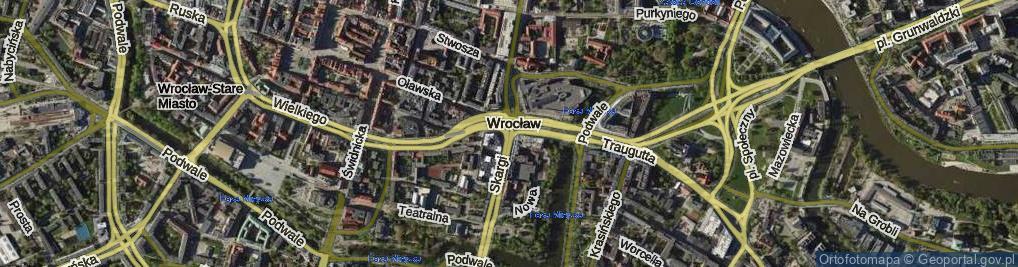 Zdjęcie satelitarne Przejście Słodowe ul.