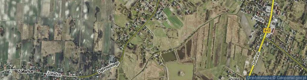 Zdjęcie satelitarne Pstrągowa ul.