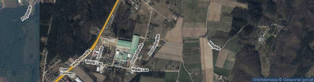 Zdjęcie satelitarne Pszczelarska ul.