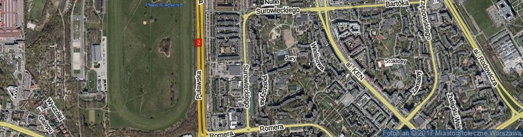 Zdjęcie satelitarne Puszczyka ul.