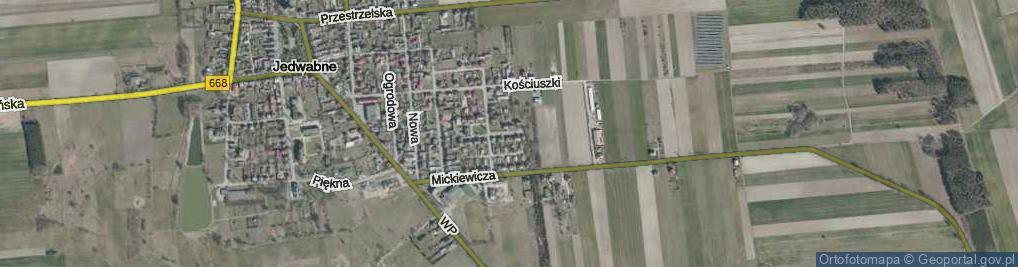 Zdjęcie satelitarne Raginisa Władysława, mjr. ul.