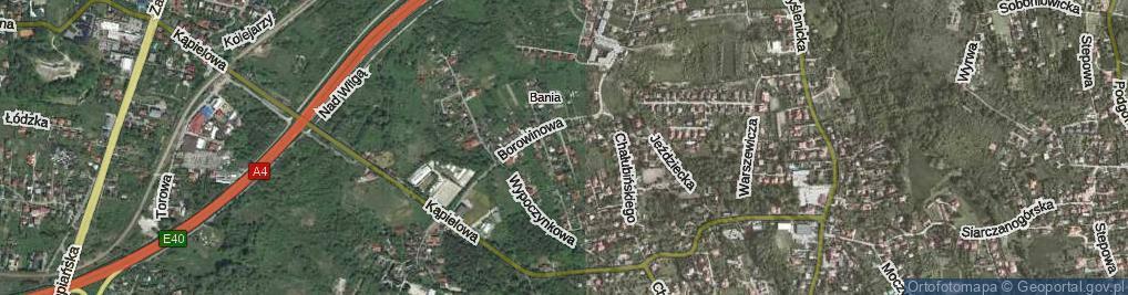 Zdjęcie satelitarne Rabczańska ul.