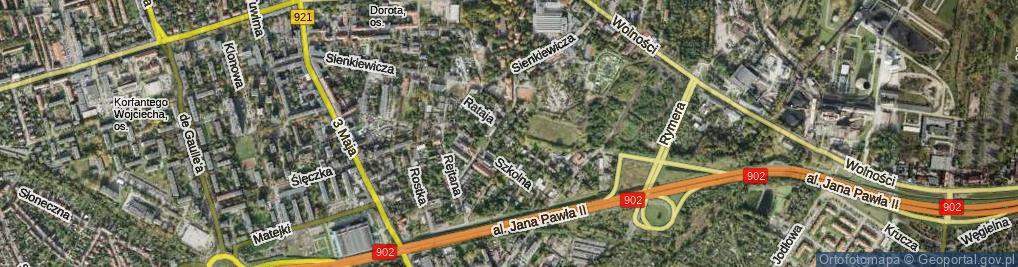 Zdjęcie satelitarne Rataja Macieja ul.