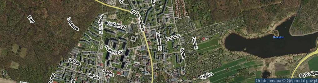 Zdjęcie satelitarne Reptowska ul.