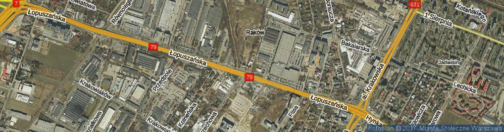 Zdjęcie satelitarne Rezerwowa ul.