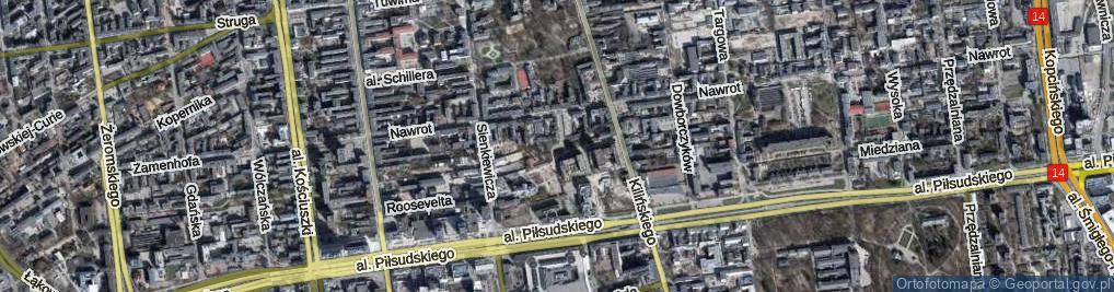 Zdjęcie satelitarne Rondo Jezuitów rondo.