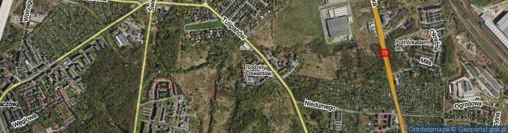 Zdjęcie satelitarne Rodziny Oswaldów ul.