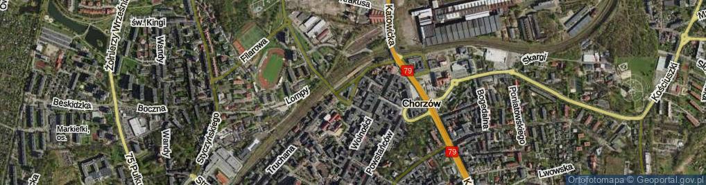 Zdjęcie satelitarne Rostka Józefa, dr. ul.