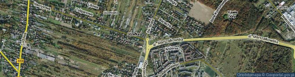 Zdjęcie satelitarne Rondo Miklewskiego, rtm. rondo.