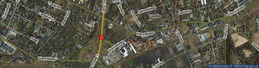 Zdjęcie satelitarne Rondo Maczka Stanisława, gen. rondo.