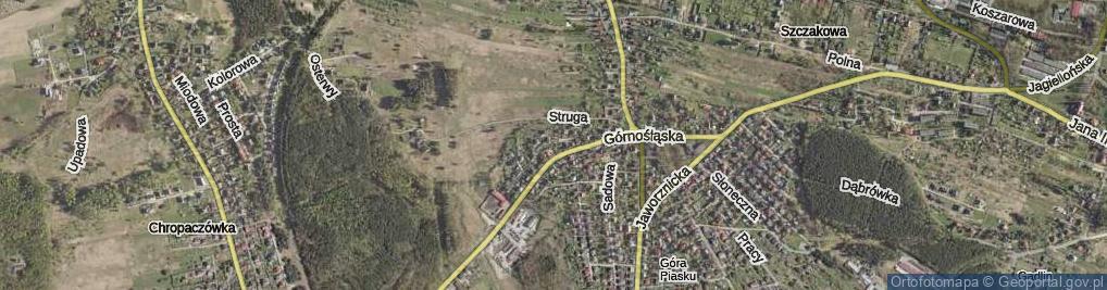 Zdjęcie satelitarne Rondo Stara Huta rondo.