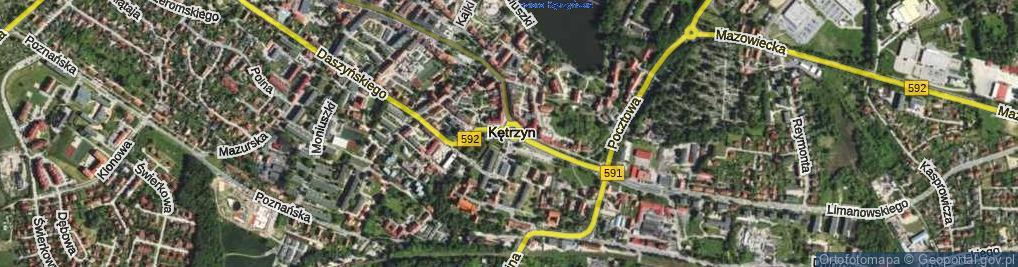 Zdjęcie satelitarne Rondo Jana Pawła II rondo.
