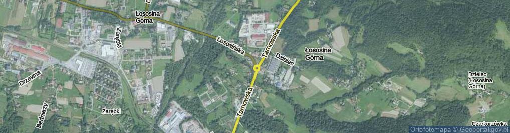 Zdjęcie satelitarne Rondo NSZZ Solidarność rondo.