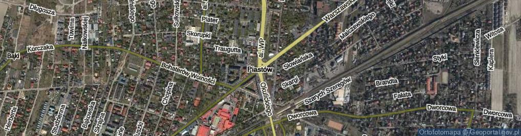 Zdjęcie satelitarne Rondo Kaczorowskiego Ryszarda, Prezydenta RP na Uchodźstwie rondo.