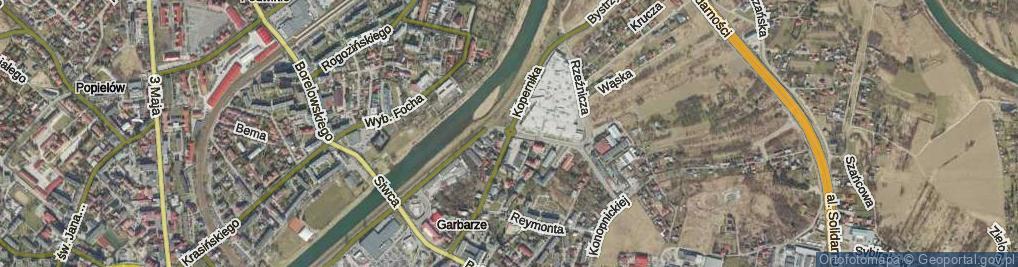 Zdjęcie satelitarne Rondo Ofiar Wołynia rondo.