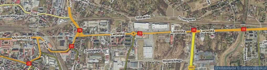 Zdjęcie satelitarne Rondo Paderborn rondo.