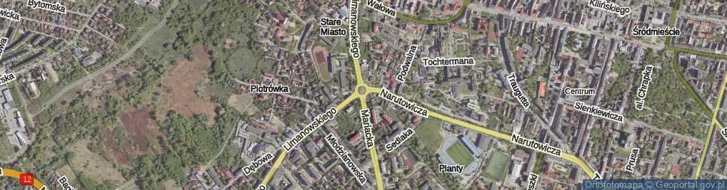 Zdjęcie satelitarne Rondo Kisielewskiego Stefana rondo.