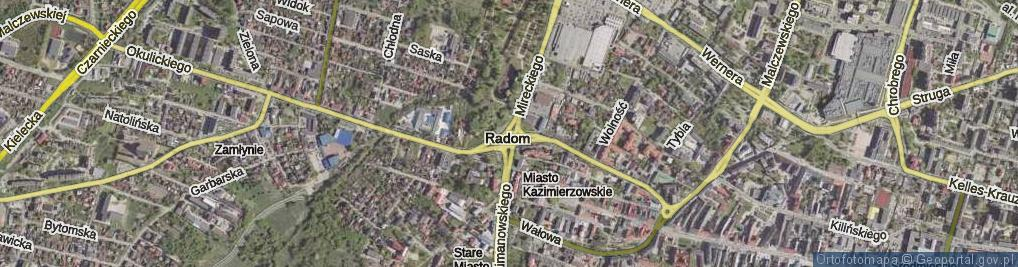 Zdjęcie satelitarne Rondo Kotlarza Romana, ks. rondo.