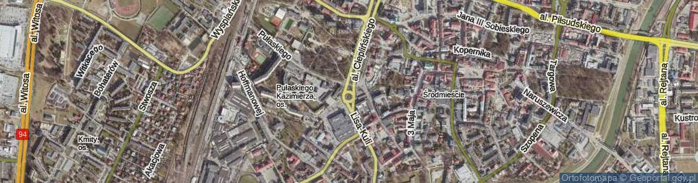 Zdjęcie satelitarne Rondo Pakosława rondo.