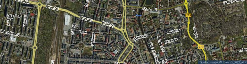 Zdjęcie satelitarne Rondo Inwalidów Wojennych RP rondo.