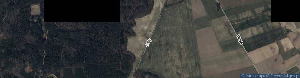 Zdjęcie satelitarne Rotty, ks. ul.