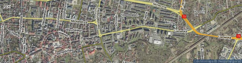 Zdjęcie satelitarne Rondo Dagnanów rondo.