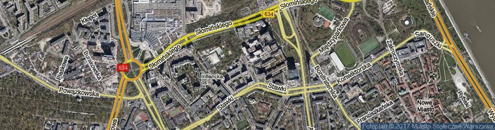Zdjęcie satelitarne Rondo Mackiewicza Józefa rondo.