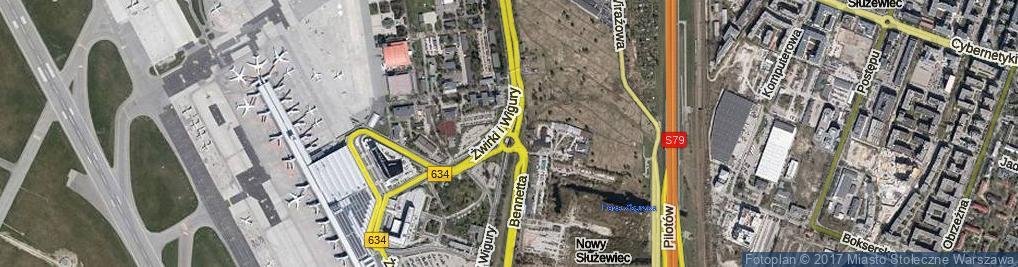 Zdjęcie satelitarne Rondo Szala Jana rondo.