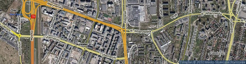 Zdjęcie satelitarne Rondo Unii Europejskiej rondo.