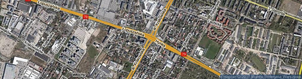 Zdjęcie satelitarne Rondo Wojnara Jerzego rondo.