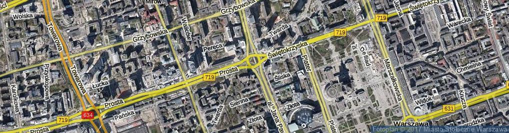 Zdjęcie satelitarne Rondo Organizacji Narodów Zjednoczonych rondo.