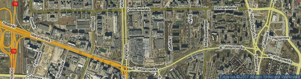 Zdjęcie satelitarne Rodziny Hiszpańskich ul.