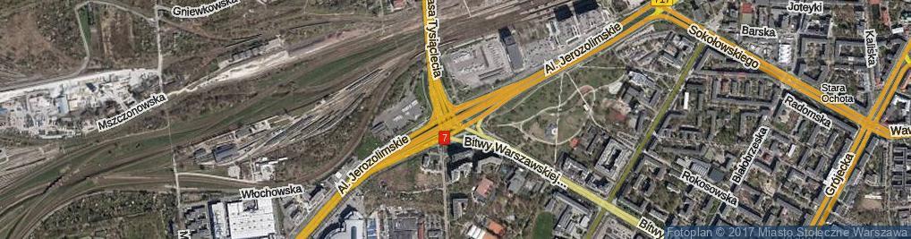 Zdjęcie satelitarne Rondo Zesłańców Syberyjskich rondo.