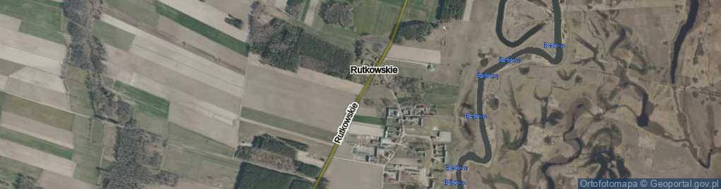 Zdjęcie satelitarne Rutkowskie ul.