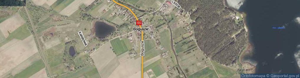 Zdjęcie satelitarne Rypałki ul.