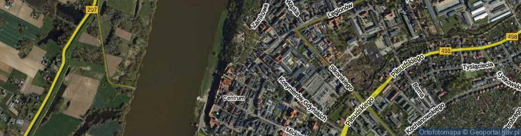 Zdjęcie satelitarne Rybny Rynek ul.
