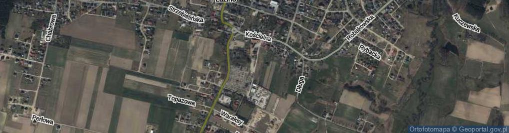 Zdjęcie satelitarne Rzepczyńskiego, ks. ul.