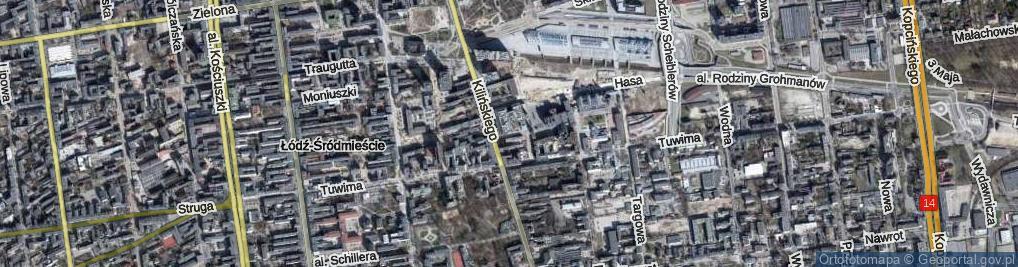 Zdjęcie satelitarne Sass-Zdort Barbary ul.
